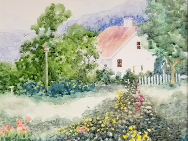 Cottage by Bernice Fatto